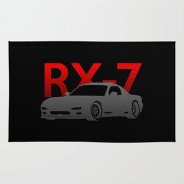 Mazda RX-7 Rug