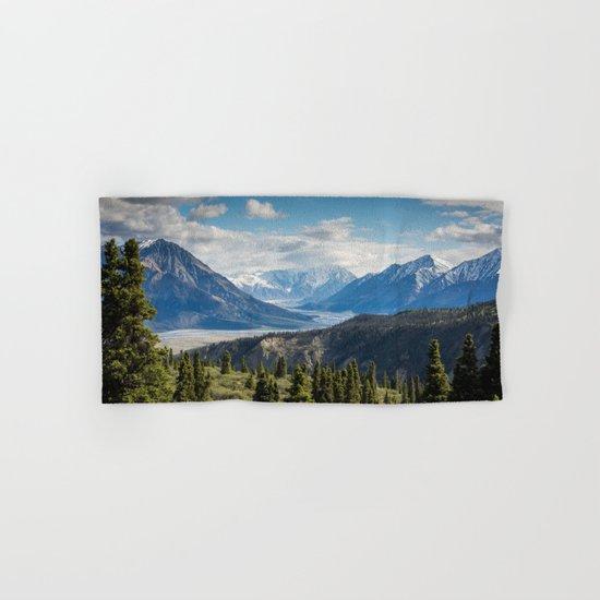 Mountain Landscape # sky Hand & Bath Towel