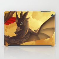 toothless iPad Cases featuring Toothless! by NezuPanda