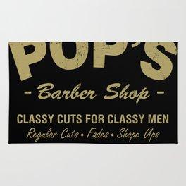 Pops Barber Shop Rug