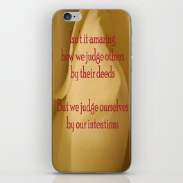 judgment iPhone Skin