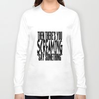 tegan and sara Long Sleeve T-shirts featuring Tegan & Sara by Lisa Miller