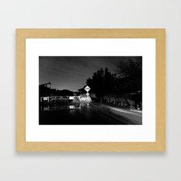 Deadend Framed Art Print