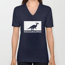 Parasaurolophus Dinosaur Unisex V-Neck