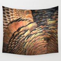 turkey Wall Tapestries featuring Turkey by Nichole B.