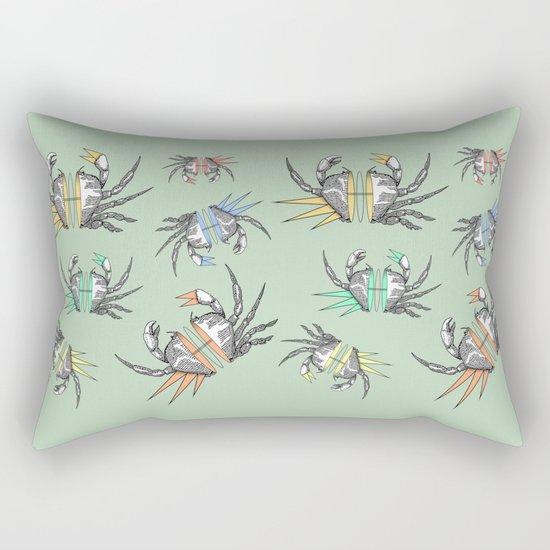 grab my crabs Rectangular Pillow