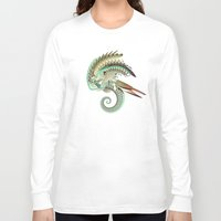 fig Long Sleeve T-shirts featuring Fig. 36 by Andre Villanueva