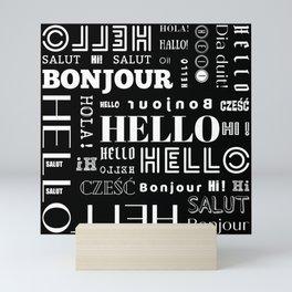 Hello, Hi Mini Art Print