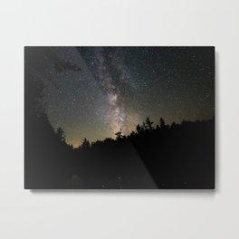 Milky way on washbowl 3 Metal Print