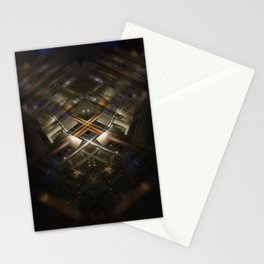 Gare Bruxelles-Luxembourg Station Brussel-Luxemburg symmetry rorschach caleidoscope Stationery Cards