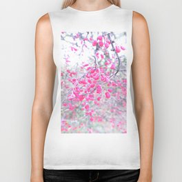 rose berries Biker Tank