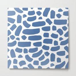Brush strokes pattern #18 Metal Print