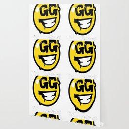 Fortnite Battle Royale GG Good Game Graffiti Spray Smiley Face Shirt Wallpaper