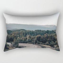 road to Cerro chapelco Rectangular Pillow