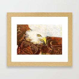 The eagle's spirit Framed Art Print
