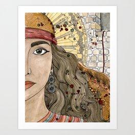 Rahab Art Print