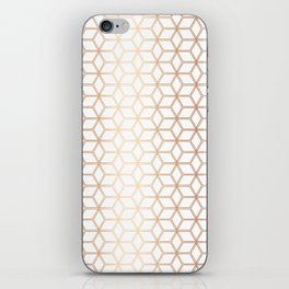 Hive Mind Rose Gold #113 iPhone Skin