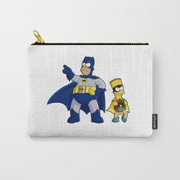 superhero batrob simpson Carry-All Pouch