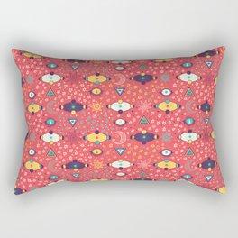 Cosmos Pattern Rectangular Pillow