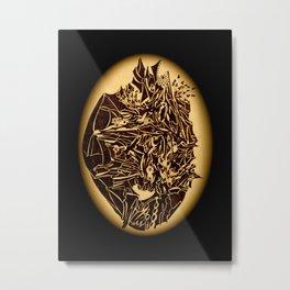 """""""Maschera"""" by ICA PAVON Metal Print"""
