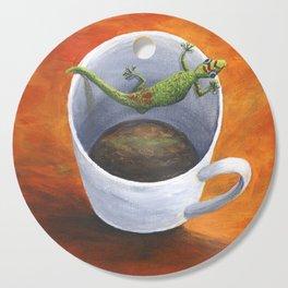 Coffee With A friend Cutting Board