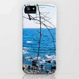 Blue blue ocean iPhone Case