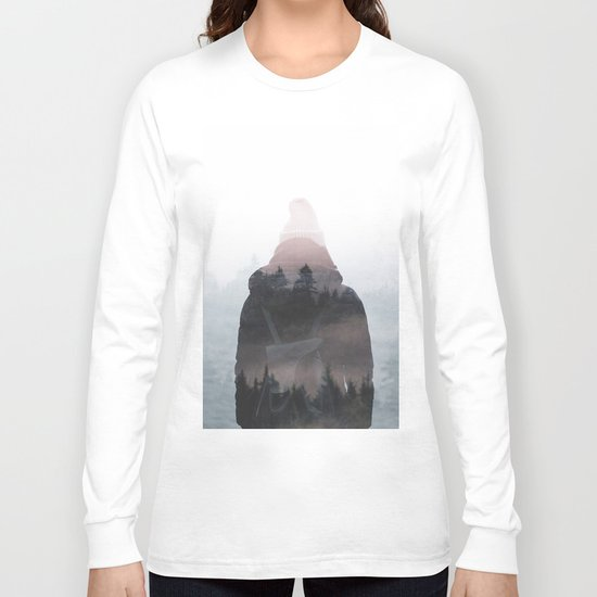 All your weight falls on me Long Sleeve T-shirt
