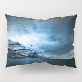The Arctic - Storm Over Still Water Pillow Sham