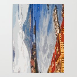 Italy. The Bay of Napoli Poster