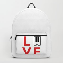 Love music #society6 #music #buyart #artprint Backpack