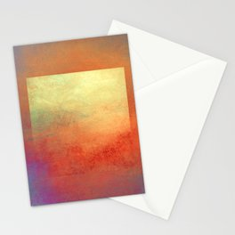 Square Composition II Stationery Cards