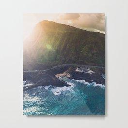 Makapuu Beach in Oahu, Hawaii Metal Print