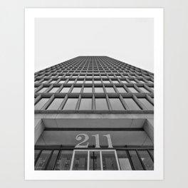 211 & Up Art Print