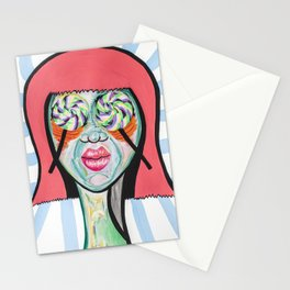 LollyPop Eyes Stationery Cards