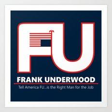 Full FU Logo Art Print
