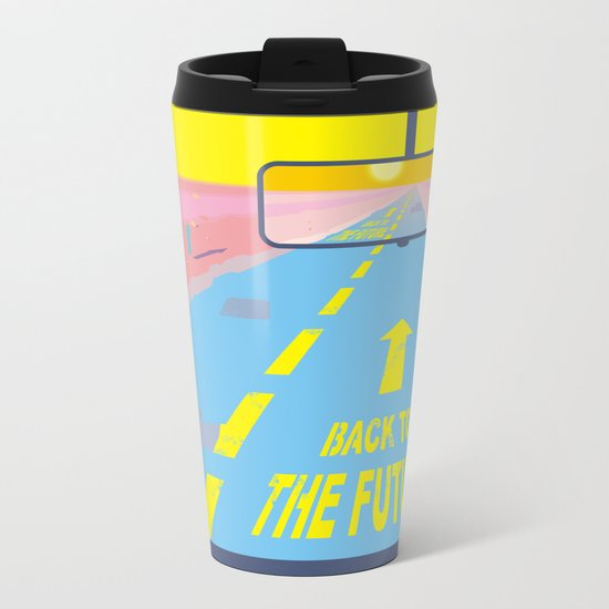 Back to the Future Metal Travel Mug