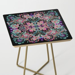 Mandala Colorful Boho Side Table