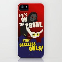 Careless Owls iPhone Case