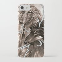 the hound iPhone & iPod Cases featuring Hound Dog by Estúdio Marte