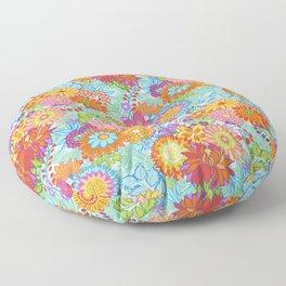 Jubilee Blooms Floor Pillow
