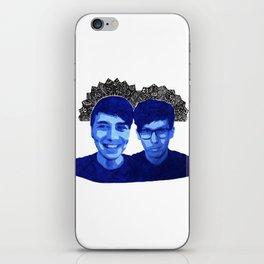 AmazingPhil & Danisnotonfire iPhone Skin