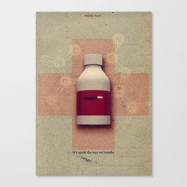 Punk Quotes Poster Serie / Fugazi Said : Promises  Canvas Print