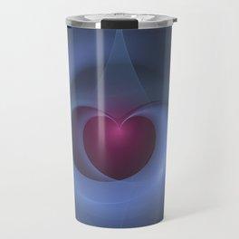 Take Care of My Heart Fractal Travel Mug