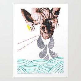 Woman Crying Print Art Print