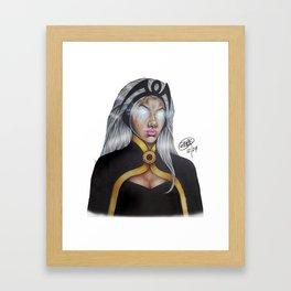 Inner Storm Framed Art Print