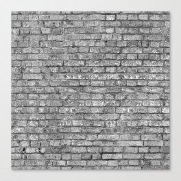 Vintage Brick Wall Canvas Print