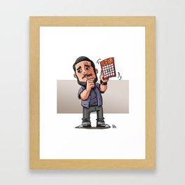 Impractical Joker Sal Framed Art Print