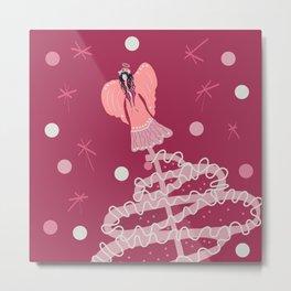 Little Pink Angel Metal Print