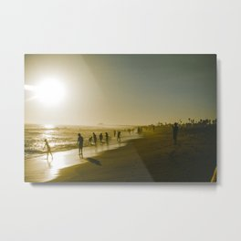 Through California. Metal Print