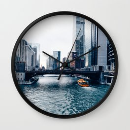 West Chicago River Wall Clock